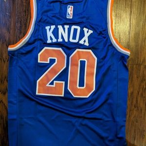 1c7c7e14f36 Nike Shirts - New york Knicks Kevin Knox Jersey